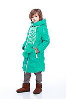 Зимняя  курточка для девочки Янина цвет мята