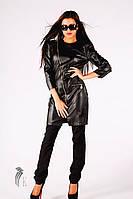 Женская кожаная куртка НТ604