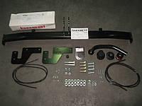 Фаркоп (с электрокомплектом) Hyundai Accent New 2010 - , Solaris sedan, HB