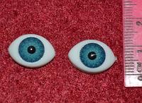 Глазки  кукольные голубые 14285-1 упаковка 50 пар