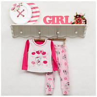 Пижама ясельная ТМ Фламинго для девочек, интерлок (артикул 245-222)