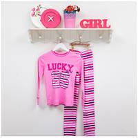 Пижама детская ТМ Фламинго для девочек, ластик (артикул 282-1006)