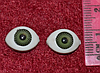 Глазки  кукольные зелёные 14286-1 упаковка 50 пар