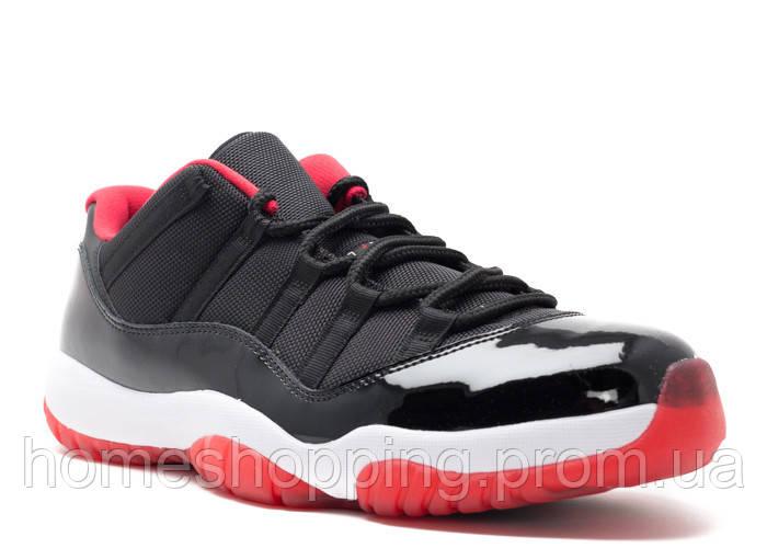 Баскетбольные кроссовки Air Jordan 11 Retro low bred