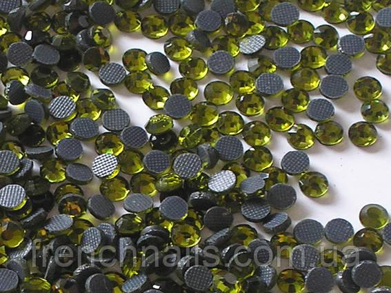 Камни SS3 темный оливка