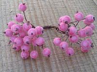 """Ягодки """"морозные"""" розовые"""