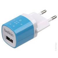 Зарядное устройство сетевое Belkin Home Charger 1A Black (F8J017E)