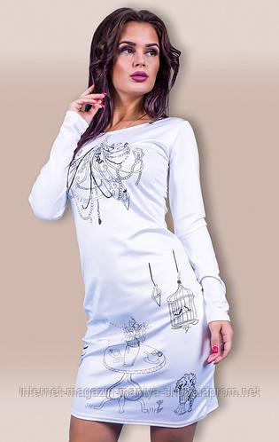 Платье женское люстра