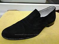 Туфли классические школьные замшевые размеры 31-41