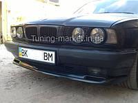 """Накладка на передний бампер БМВ Е34 """"M-Teх"""", Юбка передняя BMW E34, фото 1"""