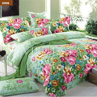 Двуспальный комплект постельного белья ТМ «Вилюта» 2006 (платинум)