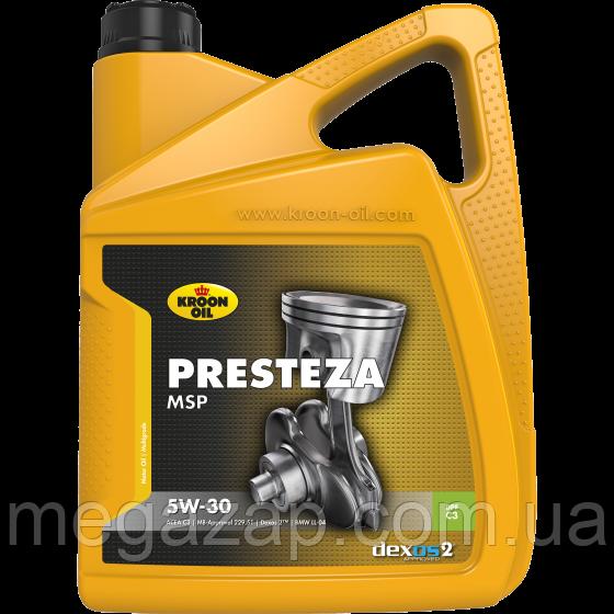 Масло моторное синтетическое Kroon Oil Presteza MSP 5W-30 5л.