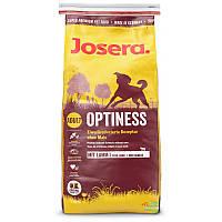 Josera optinese корм йозера оптинес для взрослых собак без кукрузы 4кг