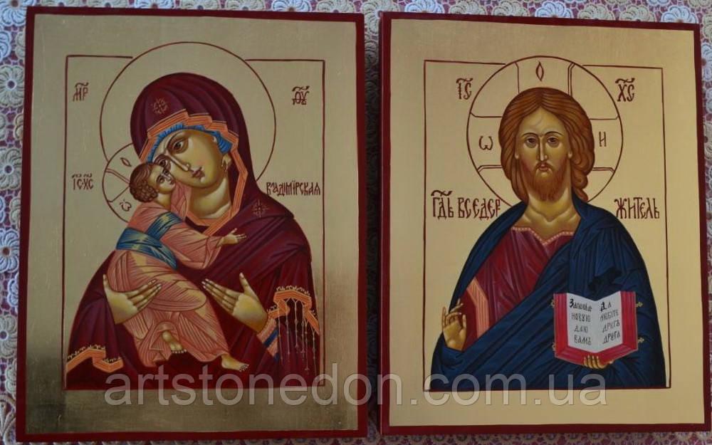 Писаные иконы Венчальная пара