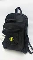 Молодежный однотонный рюкзак ORMI - черный