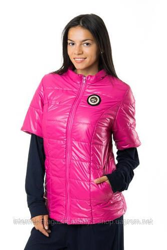Куртка женская полу батал короткий рукав
