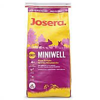 Корм для собак маленьких пород JOSERA Miniwell йозера минивел 15кг
