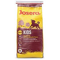 Корм JOSERA Kids (йозера кидс) 15кг + Бесплатная доставка! ( для молодых собак и щенков)