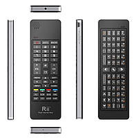 Клавиатура беспроводная+пульт (для Smart TV) Rii mini i13 (RT-MWK13[2.4G]), 2.4G, Airmuse, ИК пульт на 8 устр