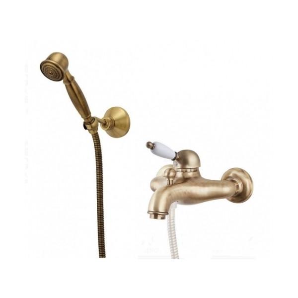Смеситель IMPERIAL для ванны,белый душ из керамики,83ZZ5103 br