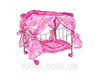 Кроватка для кукол M 0477