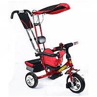 Детский велосипед трехколесный КРАСНЫЙ Tilly combi trike BT-TC-509