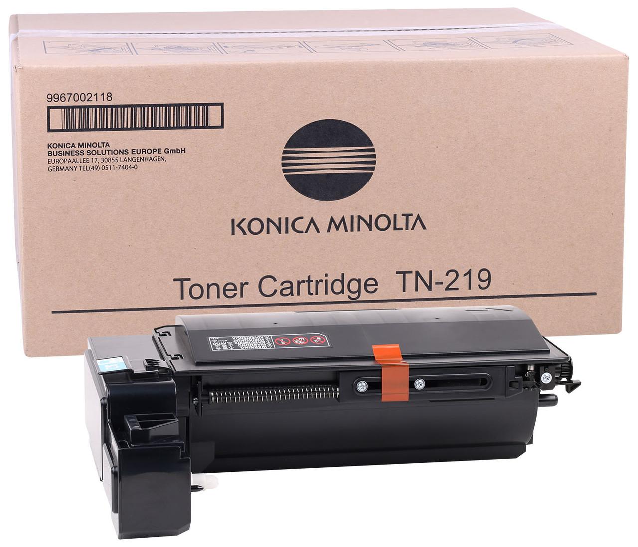 Тонер-картридж TN-219 Konica Minolta для модели bizhub 25e, 20 000 стр. @5%