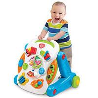 Детский игровой центр Weina 2137, 2в1 (каталка-стол)