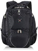 Рюкзак с отделением для ноутбука 15 дюйма 30 л. Wenger Swiss Gear черный 38х42х24 см.