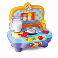 Игровая кухня PG 2586 плита + миксер, посуда, звук, свет