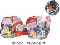 """Детская игровая палатка тоннель с переходом SG7015-4 """"Need for speed"""""""