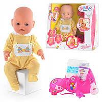 Пупс кукла Baby Born Бейби Борн BB 8001-2 (Лето) Маленькая Ляля новорожденный с аксессуарами