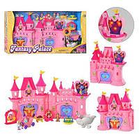 Замок 21713 принцессы,фигурки 4шт,карета, дракон, муз