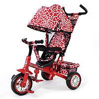 Велосипед трехколесный Combi Trike Zoo-Trike Красный жираф TILLY BT-CT-0005