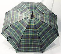 Зонт трость в клеточку Антишторм