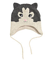 Дитяча шапочка для дівчинки 1-2 роки, фото 1