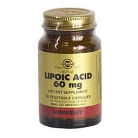Альфа-липоевая кислота (Lipoic Acid) Солгар №30
