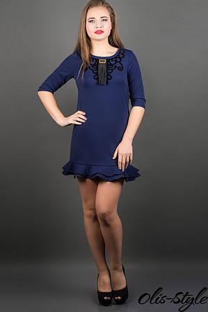 Платье Кураж (синий)