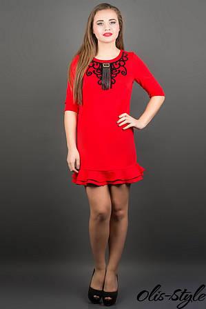 Платье Кураж (красный)