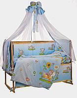 """Детский постельный комплект Bepino """"Слоник голубой"""""""