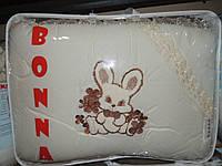 """Детский постельный комплект белья """"Bonna Lux"""" Зайчик, Бежевый"""