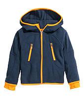 Детская флисовая куртка для мальчика H&M  1-2 года