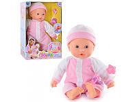 Детская интерактивная кукла-пупс мягкотелый 5235  Мила
