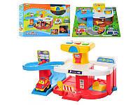 Игровой набор двухуровневый гараж WinFun 1251-01