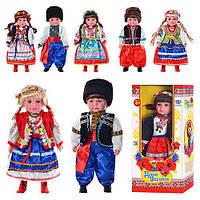 Кукла музыкальная Дети Украины Катеринка, Олесь M 2132 UI