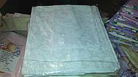 Комплект сменного постельного белья 3 в 1 бязь Голубенький Узор