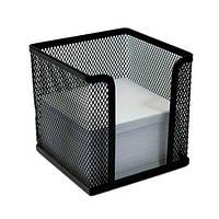 Пенал для бумаги, металлический, черный, (10х10х10), O36313-01