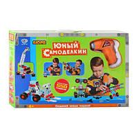 Детский конструктор 661-302, 550 деталей, шуруповерт