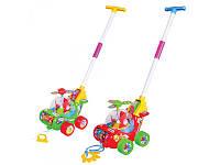 Детская игрушка каталка-Вертолет 0867  на палочке