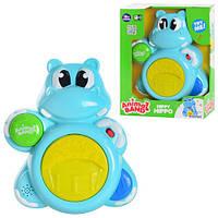 Детская музыкальная игрушка Keenway 31964  Бегемот- барабан